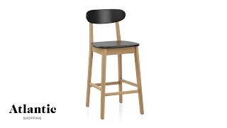 Culture Oak Bar Stool