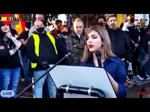 Isabel Peralta manifestación Madrid