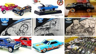 M2 Machines Chevy Bel Air Gasser '65 Ford Galaxie Hot wheels and more