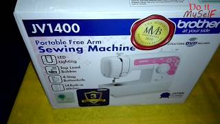 Unboxing BROTHER JV1400 Portable Sewing Machine