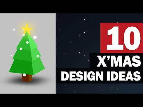 10 Awesome Web Design Ideas For Christmas - HTML/CSS/JS