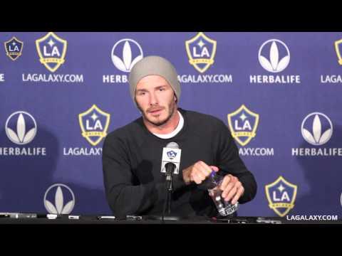 David Beckham press conference