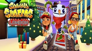 Subway Surfers: London - Sony Xperia Z2 Gameplay
