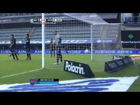 Boca Juniors 4 - Newells 0 /PROMIEDOS