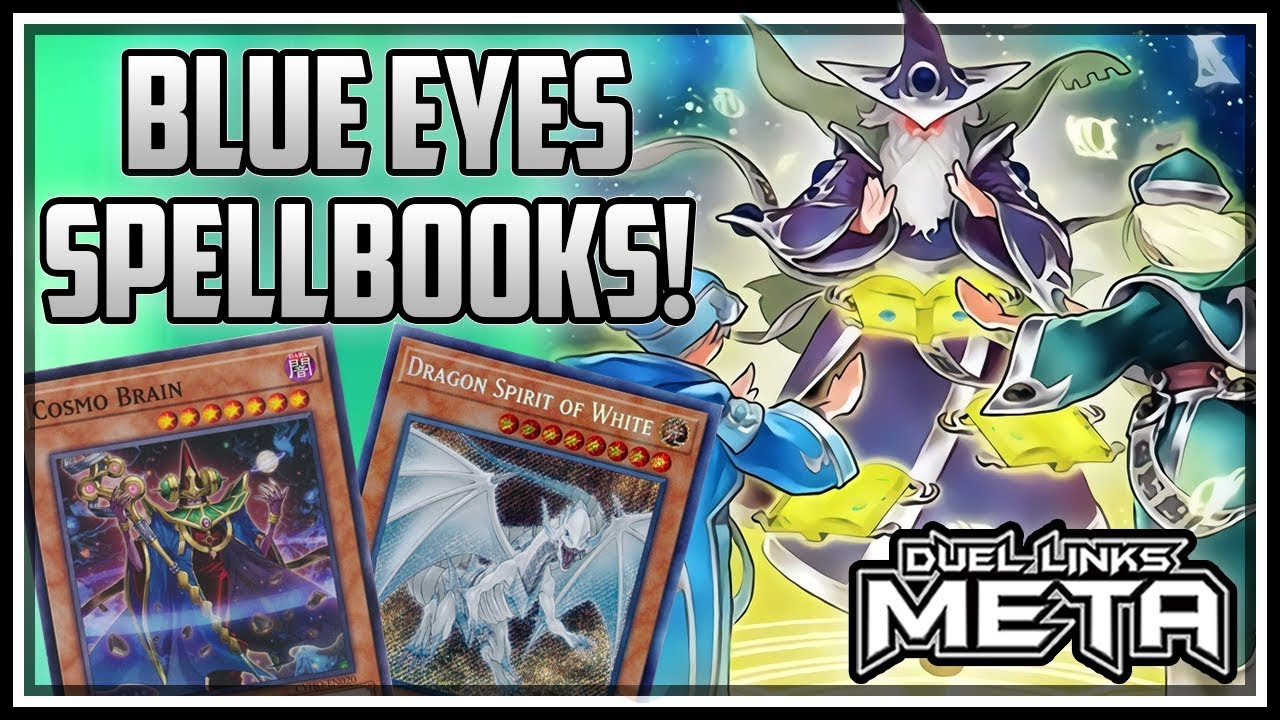 Blue Eyes Spellbooks! [Yu-Gi-Oh! Duel Links]