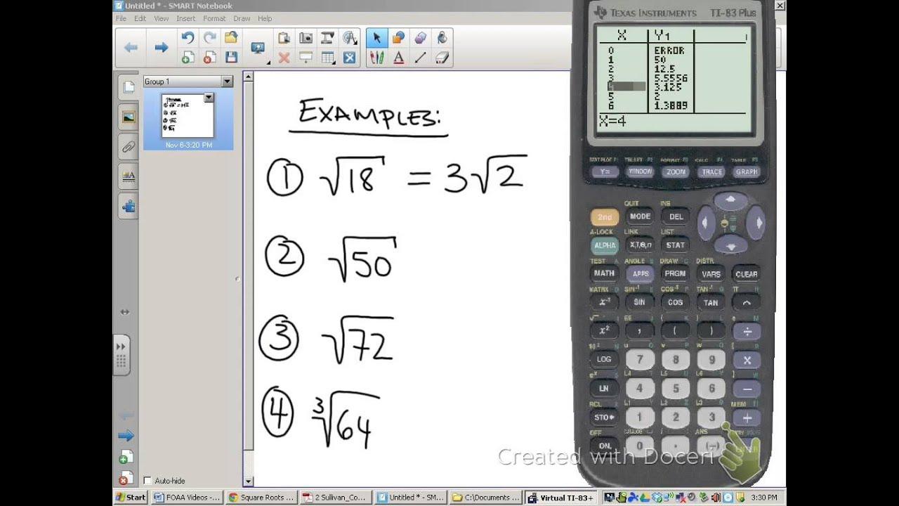 Decimal To Radical Form Calculator Heartpulsar
