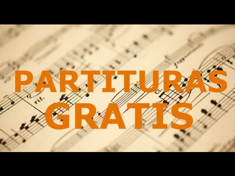 Descarga partituras GRATIS (RECOMENDADO) - YouTube