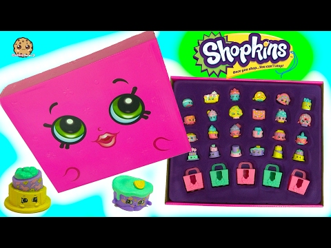 Full Set of 24 Shopkins Lost Mystery Edition Box Pack with 6 Exclusive Cakes