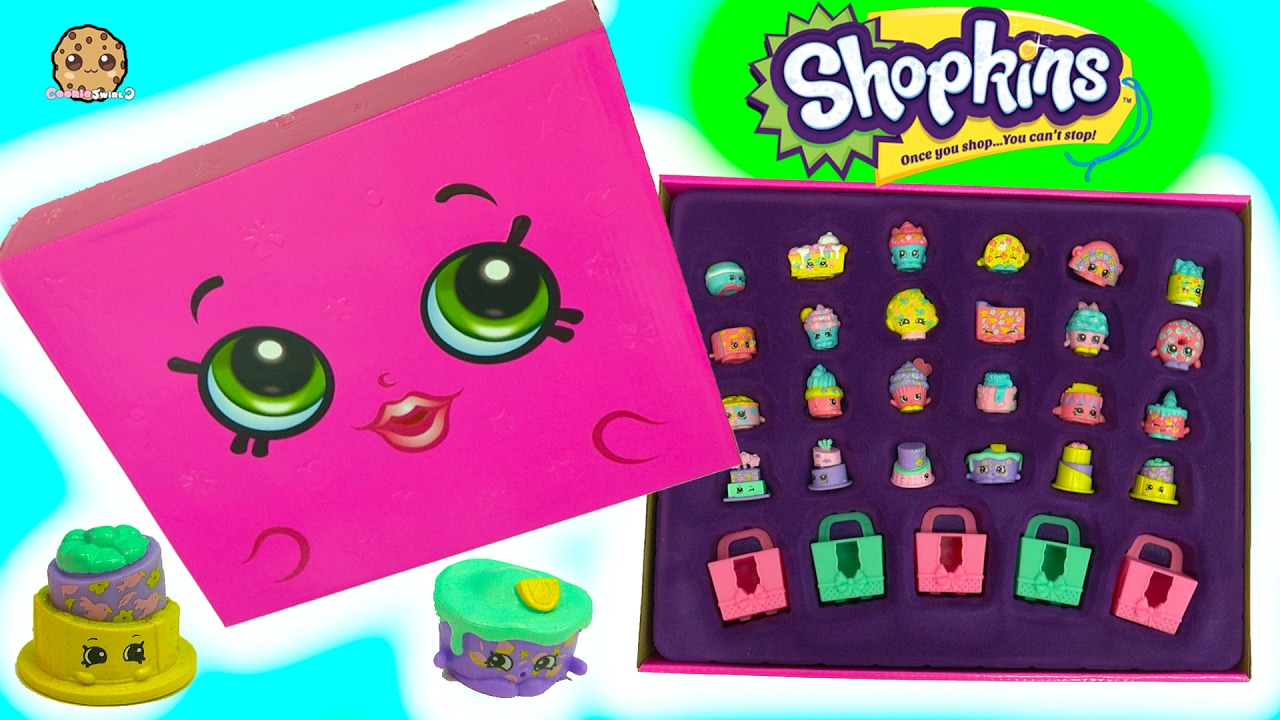 Full Set Of 24 Shopkins Lost Mystery Edition Box Pack W