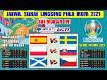 🔴 JADWAL SIARAN LANGSUNG EURO 2020 MALAM INI ~ SPANYOL VS SWEDIA ~ EURO 2020
