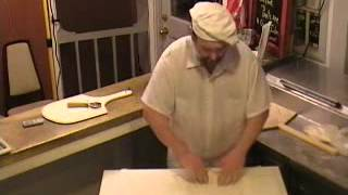 How To Spin Pizza Dough.wmv