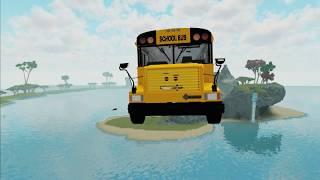 Roblox School Bus Animation   School bus games & cartoon