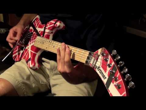 'Panama' - Van Halen (cover w/ backing track)