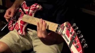 'Panama' - Van Halen (cover w/ backing track)
