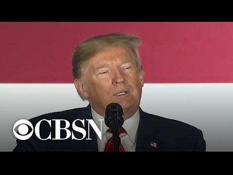 Trump says he fell asleep during Obama's speech