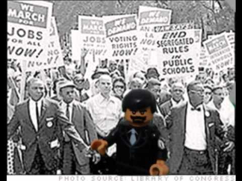 Lego Martin Luther King Jr - YouTube