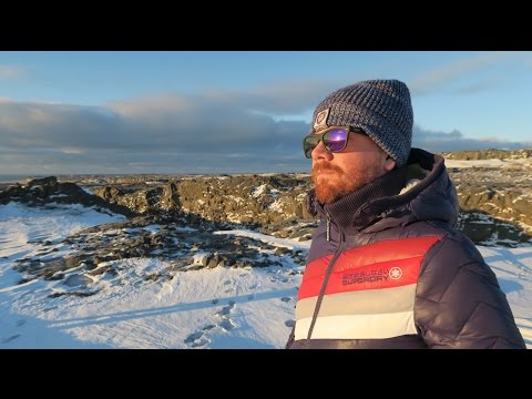 ICELAND BRIDGE BETWEEN CONTINENTS