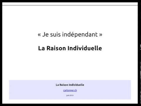 02 - La Raison Individuelle - La création d'entreprise en Suisse