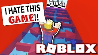 TROLLING MY FRIEND WITH IMPOSSIBLE OBBY!! *HE RAGES!* (Roblox Shadow Run)