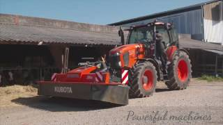 2017 New Kubota M7001 the biggest and most efficient tractor