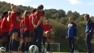 U.S. U-23 WNT Preps for Six Nations Tournament