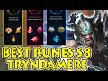 BEST RUNES FOR TRYNDAMERE SEASON 8 [OLD PRESEASON]