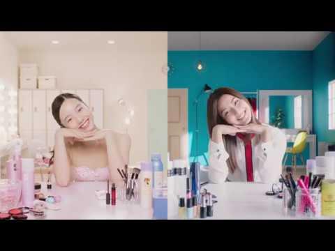WEB MOVIE  KOSE 本田真凜 with すみれ Dancing Make Up