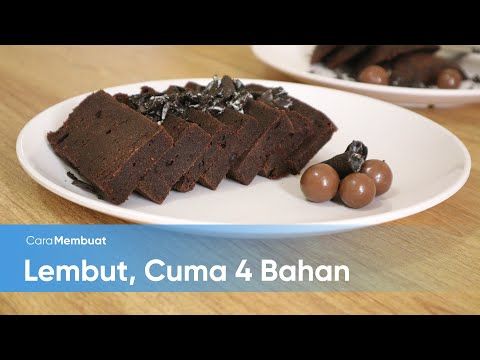 Cara Membuat Brownies Chocolatos Mudah, Cuma 4 Bahan