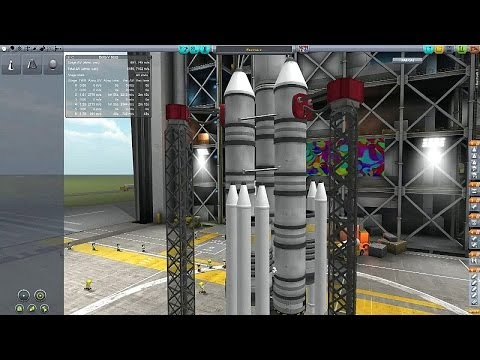 Kerbal Space Program - Career Mode - Lots of Mods - Episode 007 - Beer To The Rescue!
