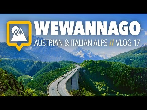 Austria to Italy: Road trip through the Alps  //  Round the World Travel  //  WeWannaGo TV