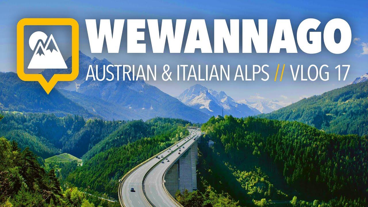Austria To Italy Road Trip Through The Alps Round Doovi