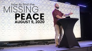 How To Find The Missing Peace PART 2 | Pastor Derek Anglin
