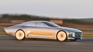 ► Mercedes Concept IAA (Intelligent Aerodynamic Automobile) - Airport Footage thumbnail