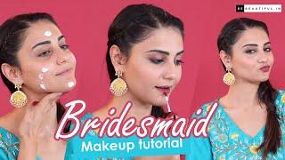 Bridesmaid Makeup Tutorial | BeBeautiful