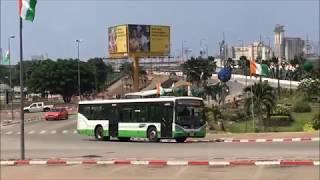 Driving around Abidjan --コートジボワール