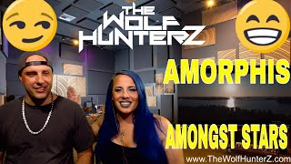 AMORPHIS - Amongst Stars (OFFICIAL VIDEO) The Wolf HunterZ Reactions