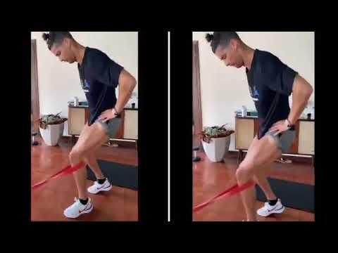 Leg Workout Cristiano Ronaldo Youtube
