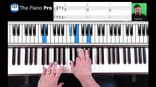 Country Piano Lick For A Song Ending