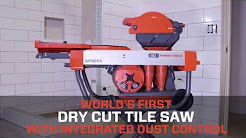 World's First Dry Cut Tile Saw - The iQTS244™