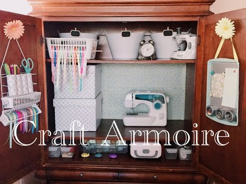 Diy Friday Sewing Cabinets Doovi