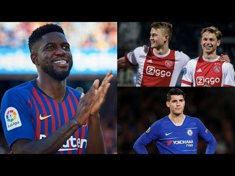 Barcelona News Round-Up ft Morata, Umtiti, De Ligt & De Jong Mp3