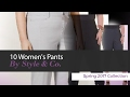 10 Women's Pants By Style & Co. Spring 2017 Collection