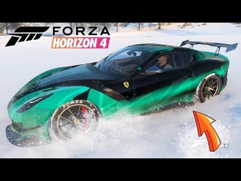 Ferrari F12TDF em Velocidade Máxima Jogo Forza Horizon 4 Gameplay thumbnail