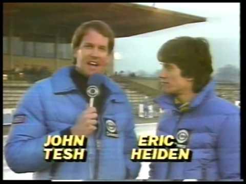 1987 World Speed Skating Championship With USAs Dan Jansen & Nick Thometz & Erik Henriksen imasports