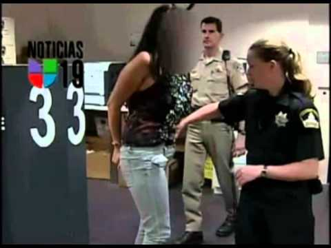 female corrections officer strip search