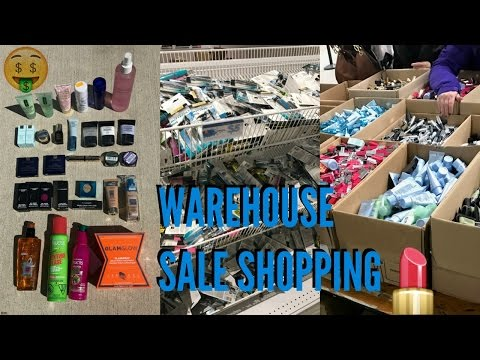 Estee Lauder & L'Oreal Warehouse Sale & Haul   2017