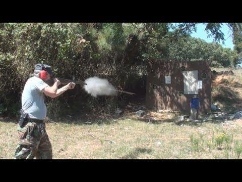 Slam bang shotgun
