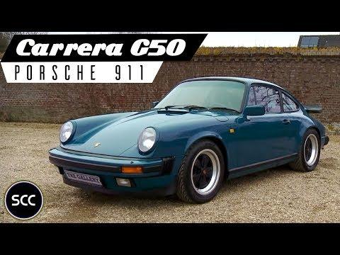 PORSCHE 911 3.2 CARRERA G50 Coupé 1991 - Fuchs wheels - Modest test drive - Engine sound | SCC TV