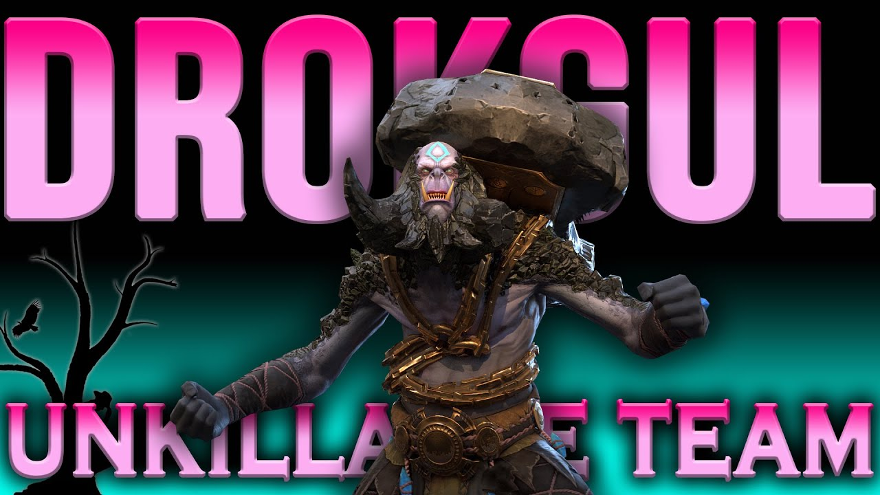 Drokgul Unkillable Team | Raid Shadow Legends