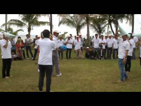 pertandingan bola teropong family gathering pt.bintan offshore
